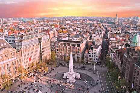Crystal Travel - Two nights Amsterdam break with return flights - Save 50%