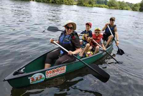 Moose Canoe and Sup Hire - Canadian Canoe Hire on the River Thames Near Marlow - Save 0%