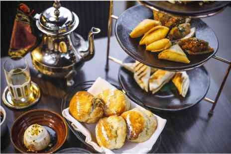 Mamounia Lounge - Middle Eastern Afternoon Tea with a Gin and Tonic for Two - Save 0%