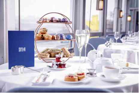 Skylon - Thames View Afternoon Tea with Cocktail or Sparkling Wine for Two - Save 0%
