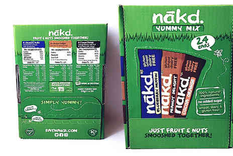 Doozy Direct - Nakd Yummy Mix Bars Pack of 24 - Save 46%