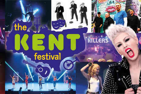 The Kent Festival - Childs day ticket, adult ticket including comedy entry choose from three dates - Save 58%