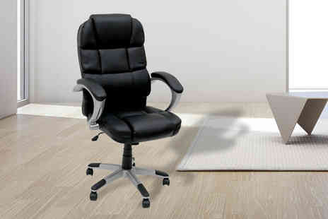 Who Needs Shops - 360 swivel office chair - Save 74%