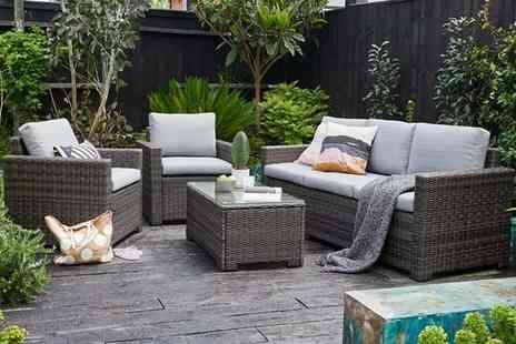 Out and Out - Five seater outdoor lounge set with a coffee table - Save 43%