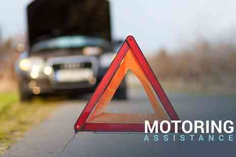 Motoring Assistance - One year premium breakdown cover for any car - Save 75%