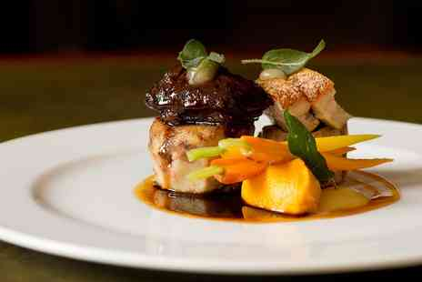 Glewstone Court Hotel - 2 AA Rosette tasting menu for Two - Save 46%