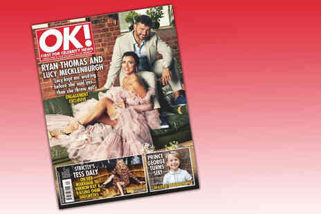 Reach PLC - Six month OK Magazine subscription including 26 issues - Save 56%