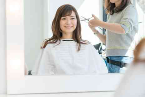 Paulines Hair And Beauty Salon - Wash, Cut and Blow Dry with Optional Condition or T Bar Foils - Save 36%