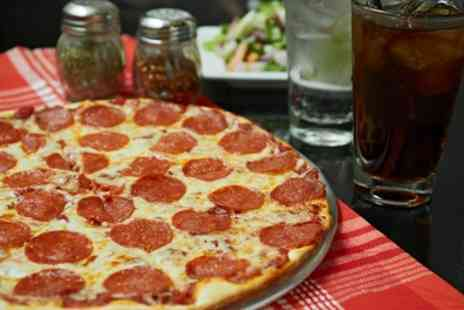 Bianco Express - Choice of 12 Inch Pizza, Large Chips, Arabic Salad and Soft Drink for One or Two - Save 42%