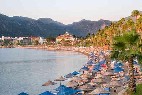 Worldwide Tours and Travel - Four Star Seven nights all inclusive Marmaris, Turkey holiday and flights - Save 43%