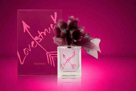 Wowcher Direct - 30ml bottle of Vera Wang Lovestruck - Save 73%