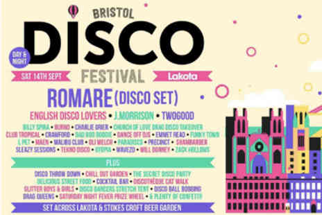 Bristol Bass Events - Two tickets to a disco festival night - Save 69%