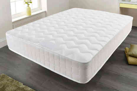 Dining Tables - Memory foam quilted sprung mattress - Save 84%