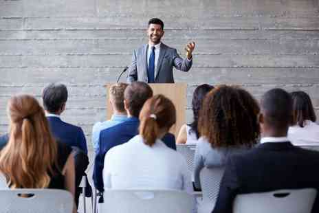 Harley Oxford - Online public speaking diploma course - Save 92%