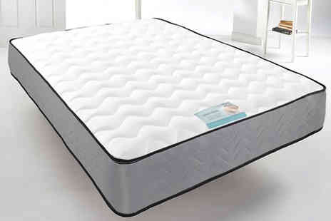 Dining Tables - Cool Blue micro quilted memory foam spring mattress choose from six sizes - Save 78%