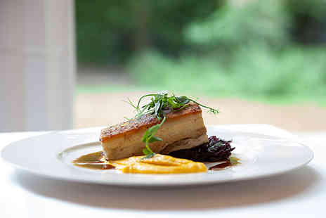 St Pauls Hotel - Three course gourmet dining for two people with a glass of Champagne each - Save 44%