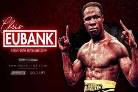 An Evening with Chris Eubank Snr - One silver or gold ticket from 20th September - Save 52%