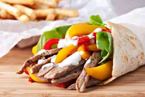 Bianco Express - Choice of Wrap, Burger or Kebab with Soft Drink for Two or Four - Save 46%