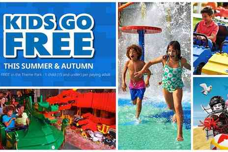 Holiday Extras - Kids Go Free at the LEGOLAND Windsor Resort this Summer and Autumn Includes October Half Term - Save 0%