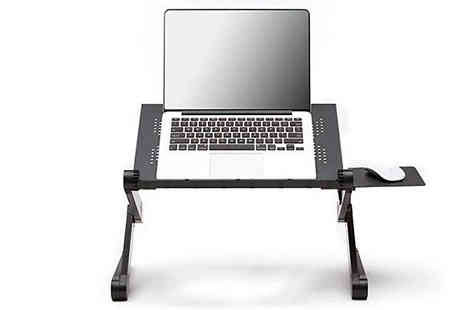 Fantasy Supply - 360 Degree Adjustable Laptop Desk Choose from Two Colours - Save 75%