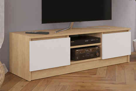 Eurotrade - Wooden TV cabinet unit - Save 61%