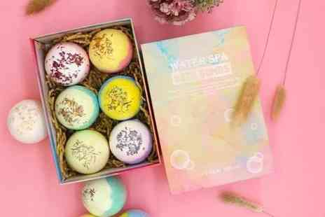 Wishwhooshoffers - Six piece bath bomb gift set - Save 75%