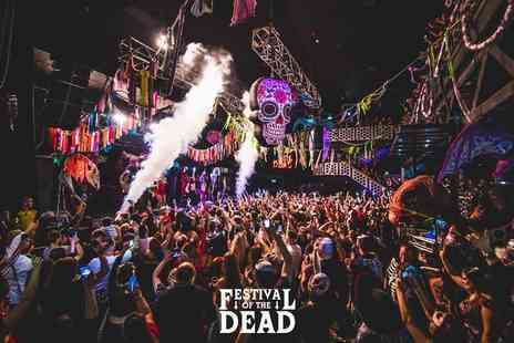 Mega Events - Entry to Festival of The Dead - Save 43%