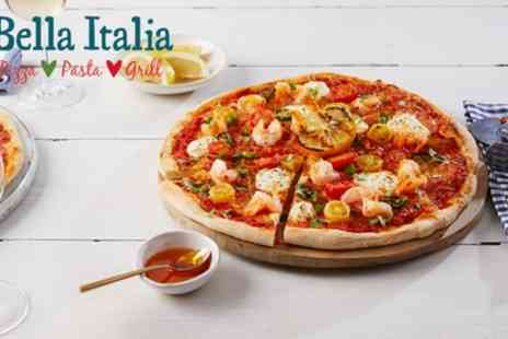 Bella Italia - Two or Three Course Italian Meal for Two - Save 55%