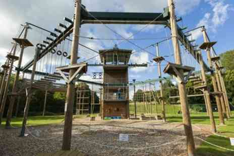 Conkers - Hi Rope Course Experience for One or Two - Save 40%