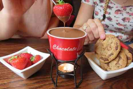 White Rabbit Chocolate - Chocolate Fondue with Sides and Drink - Save 43%