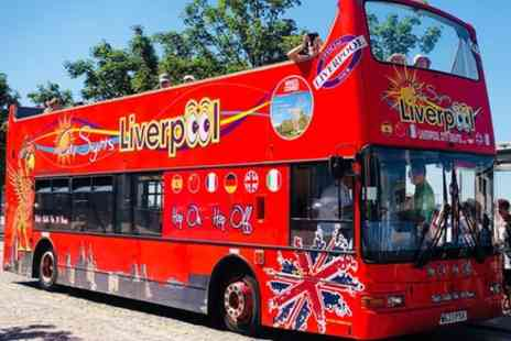 Liverpool City Sights - Hop On Hop Off Open Top Multilingual City Tour - Save 0%