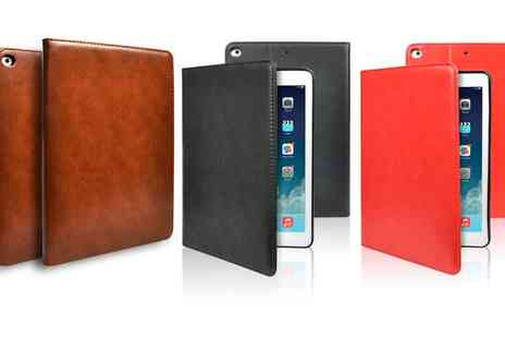 Groupon Goods Global GmbH - Apachie PU Leather Folio Case for iPad 2, 3, 4, iPad Air or Pro 9.7 Inch, iPad Mini - Save 0%