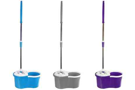 Groupon Goods Global GmbH - ASAB 360° Spin Mop in Choice of Colour - Save 0%