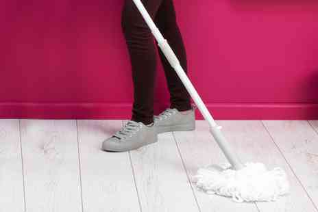 Groupon Goods Global GmbH - Kleeneze KL062499EU Extendable Telescopic Easy Wringing Twist Mop - Save 0%