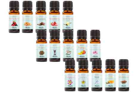 Groupon Goods Global GmbH - Set of Five Fragrance Oils 10ml - Save 0%