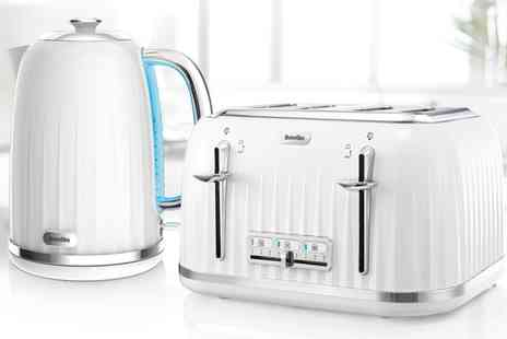Groupon Goods Global GmbH - Breville Impressions Kettle and Toaster Set - Save 0%