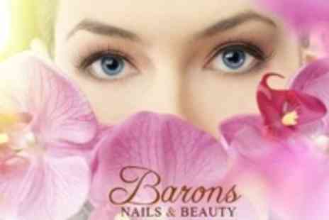 Barons Nails and Beauty Salon - Semi Permanent Eyelash Extensions and Brow Tidy - Save 0%