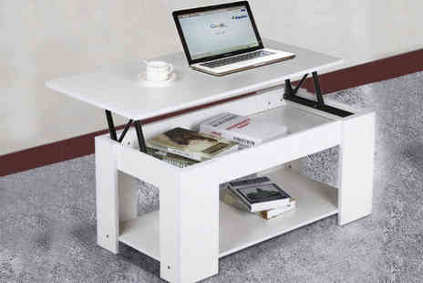 CnDirectBiz  - Lift up top coffee table - Save 67%