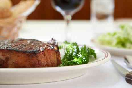 The Three Chimneys Smokehouse & Grill - Sirloin Steak, Sides and Glass of Wine for Two or Four - Save 31%