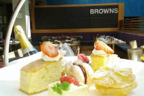 Browns at The Mere Resort - Afternoon Tea with Optional Prosecco or Champagne for Two or Four - Save 40%