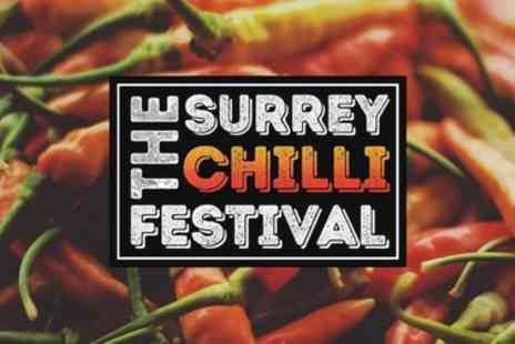 The Surrey Chilli Festival - One family day ticket for two adults up to three children from 7th To 8th September - Save 23%