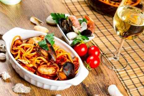 Ciao Restaurant - Two Course Italian Meal and a Glass of Wine for Two or Four - Save 48%