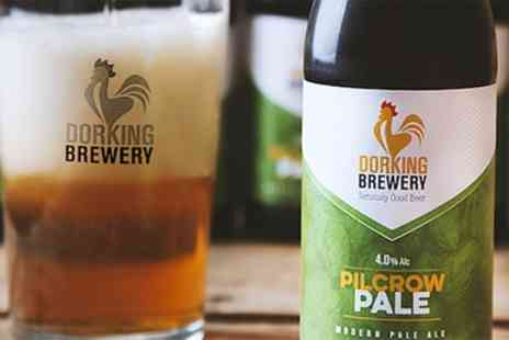 Dorking Brewery - Brewery Tour with Pork Scratchings for Two or Four - Save 50%
