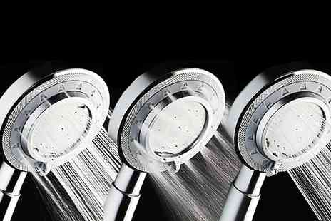 Groupon Goods Global GmbH - One or Two Pressure Booster Shower Heads - Save 0%