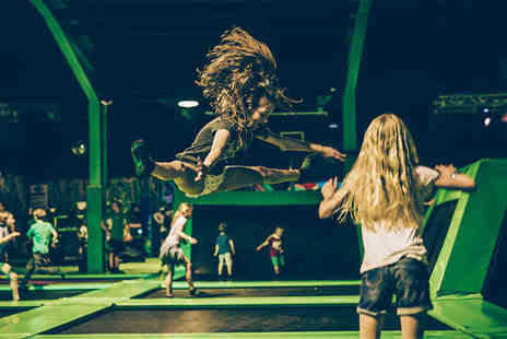 Flip Out Bristol - Two hour trampolining jump session for an adult or child - Save 40%