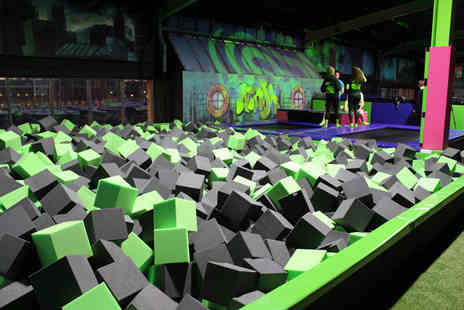Flip Out Bristol - Two hour activity park session for an adult or child - Save 29%