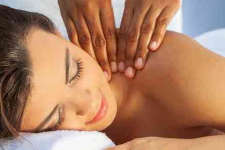 Eyebrow Beauty - 30 Minute Full Body Massage and 30 Minute Facial - Save 51%