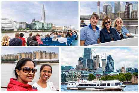 Thames River Services - Westminster to Greenwich River Boat Tour - Save 46%