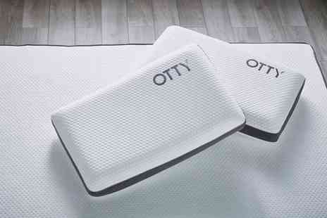 Otty - Cool blue gel pillow - Save 23%