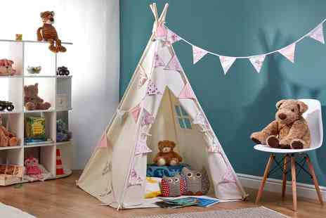 Groupon Goods Global GmbH - TeePee Style Tent in Choice of Design - Save 0%